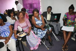 Toyin and Ify two of our special people in the class